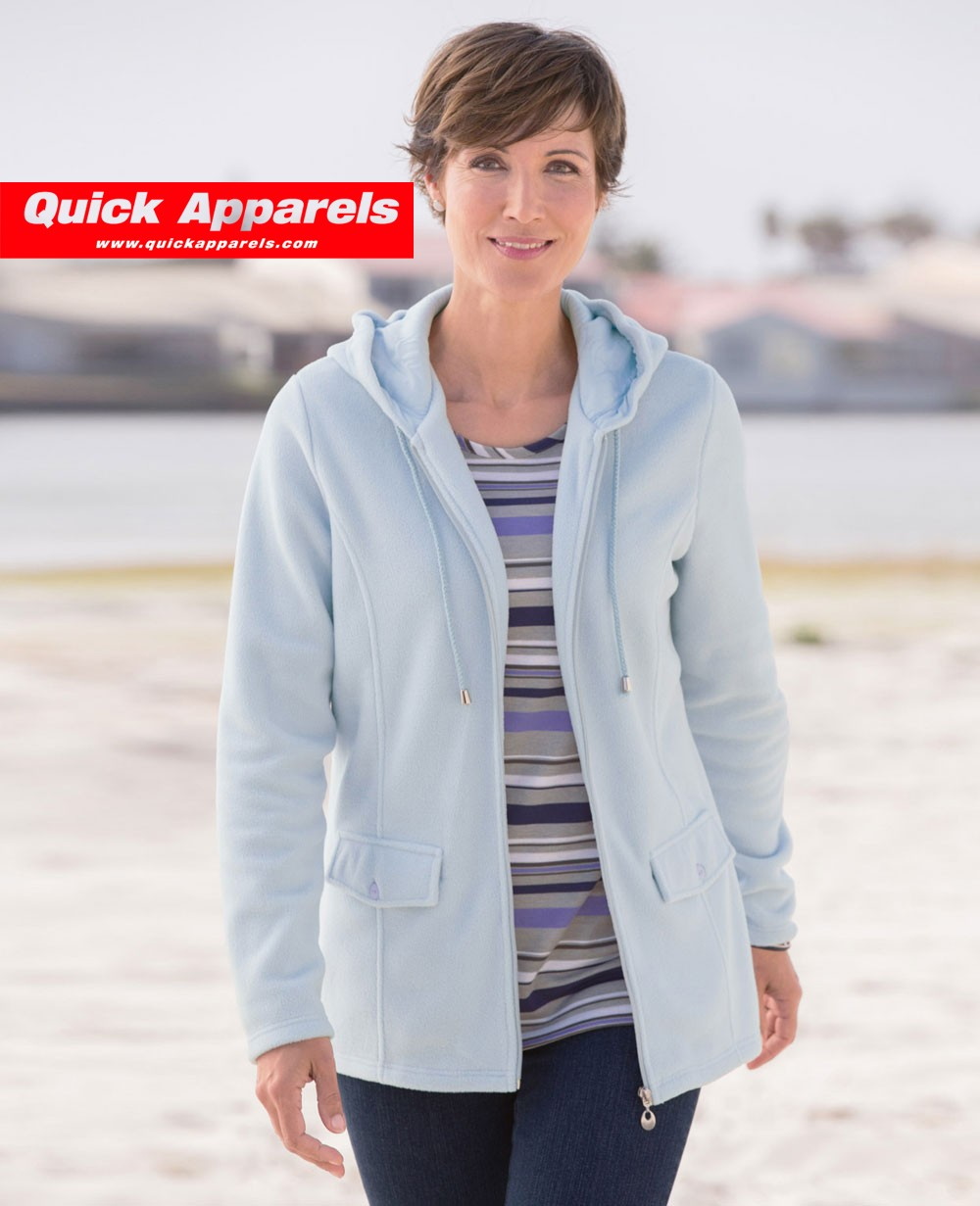 New Fashionable Fleece Jacket in Blue
