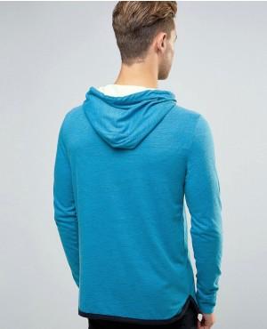 Zipper Sleeveless Yoga Hoody for Men