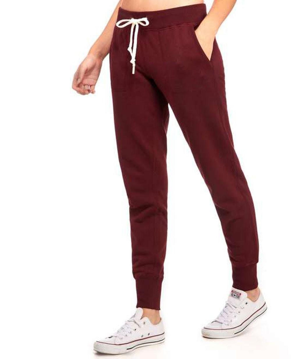 a8850249ebca4 Burgundy Best Selling Women Fleece SweatPants