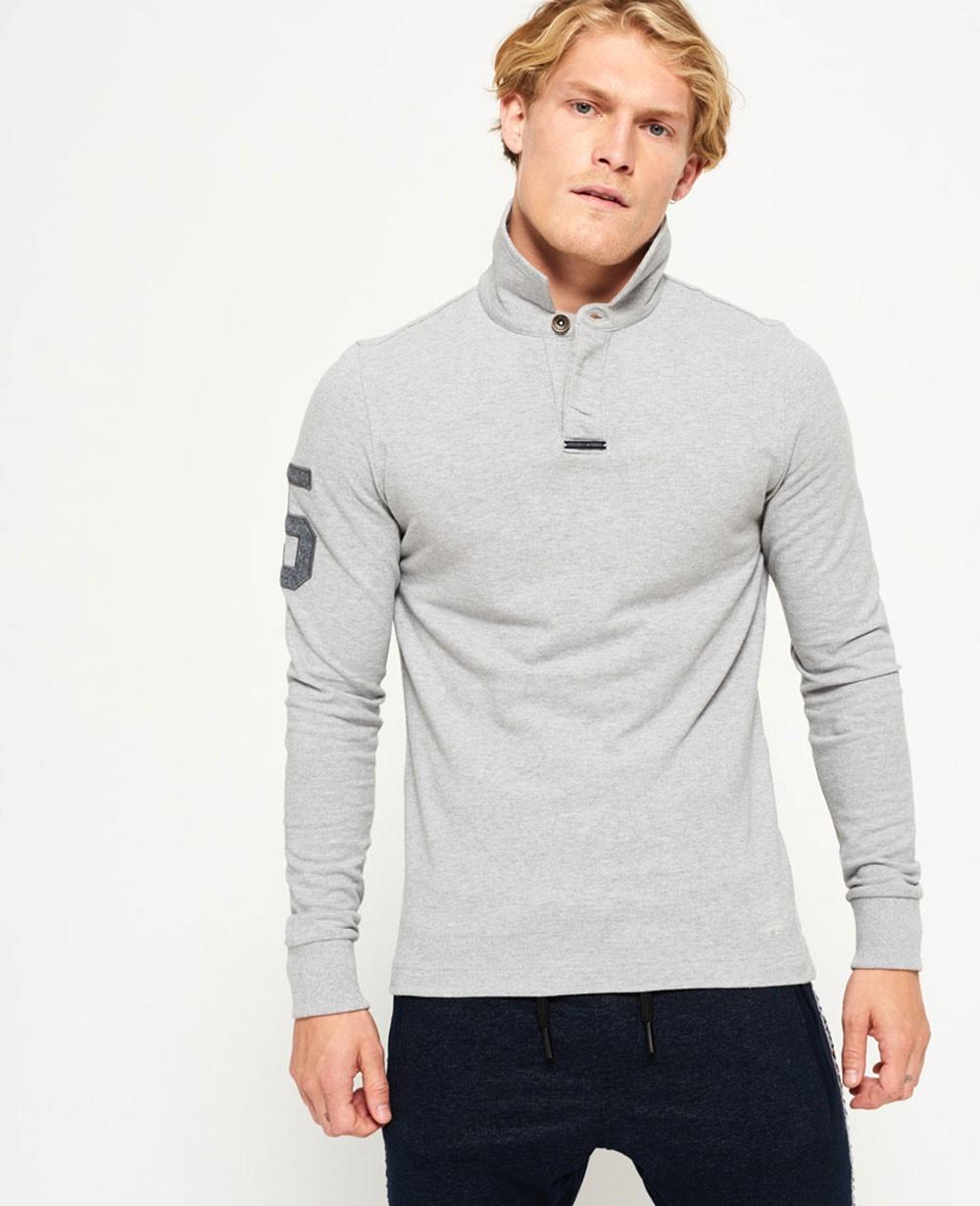 Long Sleeve Men Polo Shirts