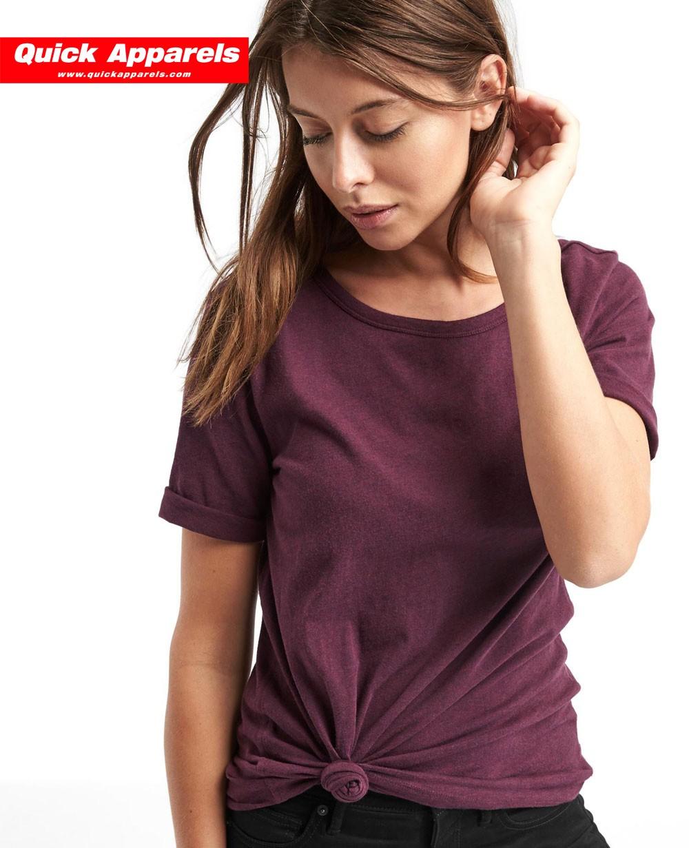8f775c89829 Women Cheap Vintage wash sueded boyfriend Tee Shirt