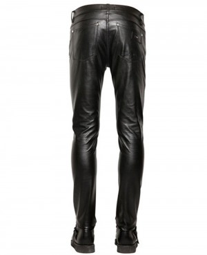 b6573f7e05e4 NEW FAUX LEATHER PANTS Premium-Buffalo-Men s-Leather-Pants