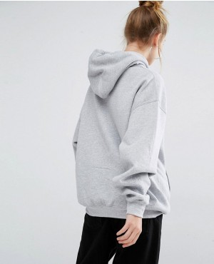 Pullover Oversized Women Grey Hoodie Pullover-Women-Hoodie-in-Longline- Oversized-Fit-with- bf151181f
